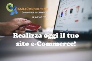 Realizza il tuo sito e-Commerce